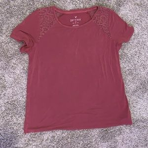American Eagle soft and sexy red tee